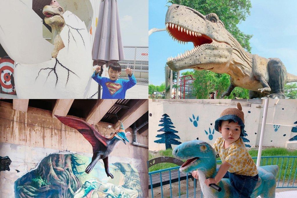 闖進侏儸紀公園!北中南恐龍迷必去的探險樂園