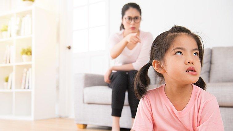 診治3-6歲孩子的問題行為──做錯事只會怪罪別人