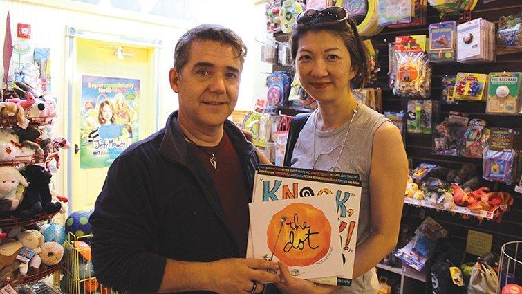 與圖畫書創作者有約:暢銷繪本《點》的創作者彼得.雷諾茲