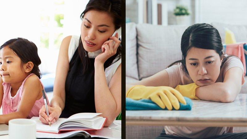 全職媽媽或上班媽媽?為何兩種媽媽一樣矛盾和內疚?