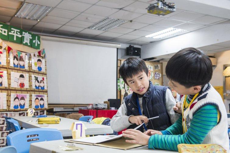 動手實驗台灣教育新配方-和平實驗國小老師與學生的冬令營