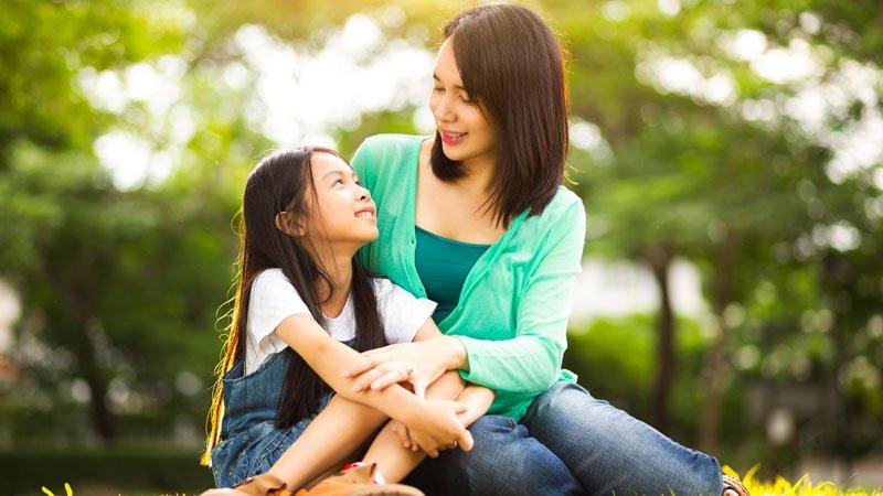 曾經渴望的母愛,讓我能給女兒更多的愛