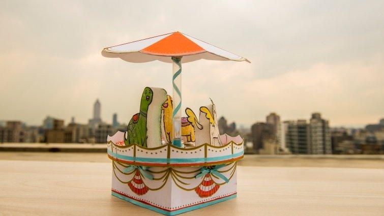 《科學玩具自造王2》音樂旋轉木馬DIY