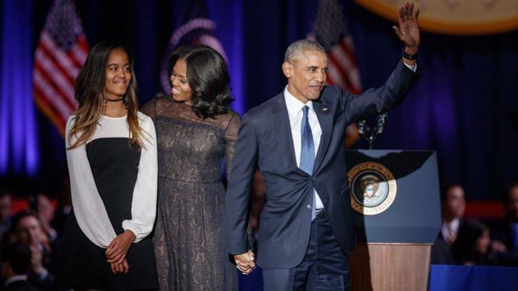 目送女兒上大學,歐巴馬嘆:「一切發生得太快」