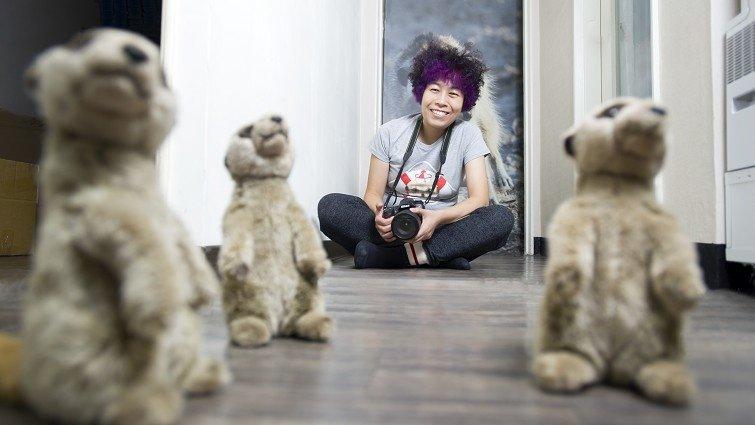 狐獴攝影師溫芳玲:看見狐獴,震撼了自己「不懂愛」的心