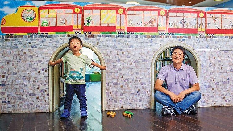賴馬:美感玩具 餵養孩子創造力