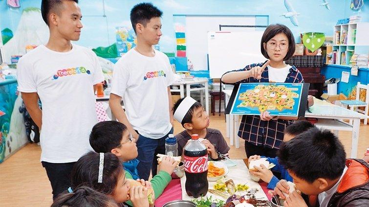 因為所以教育協會  台味英語打開孩子學習胃口