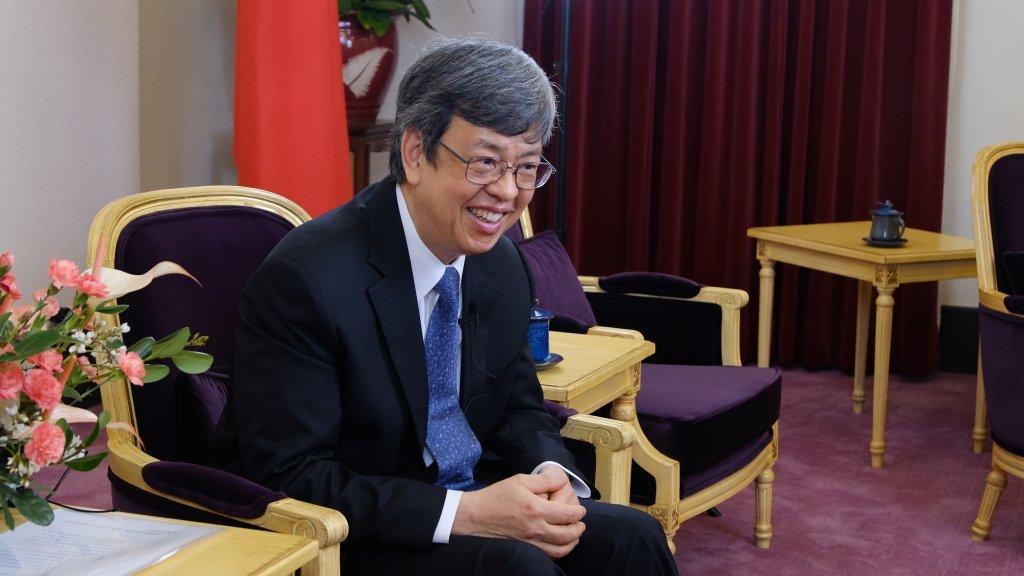 副總統陳建仁:我何其幸運,能和台灣人民一起抗疫