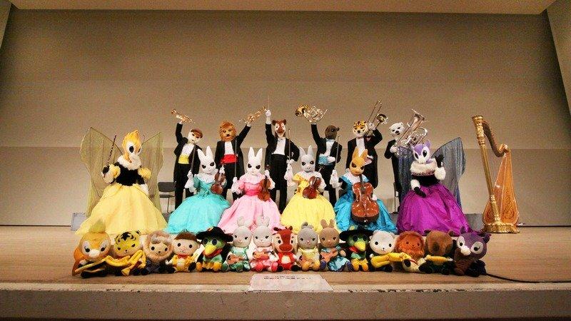 音樂的繪本動物樂團11月「花園舞會」帶孩子來聽音樂吧