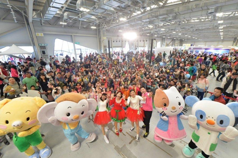2017年Maker Party 吸引三萬人共襄盛舉,玩出無限精采!