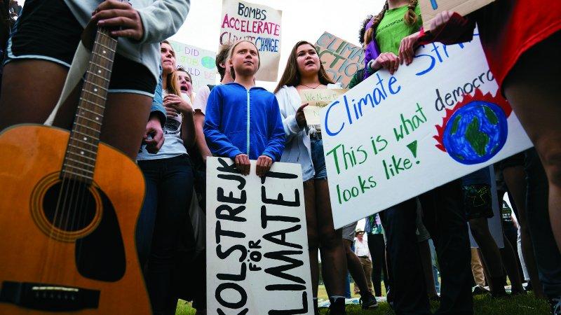 從一人罷課,引爆全球抗暖化運動 16歲環保少女:不要小看我們年輕!