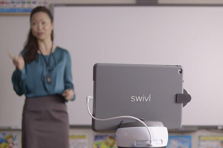 遠距教學,需要超前佈署! 從設備剪輯到儲存管理, 美國Swivl一次到位