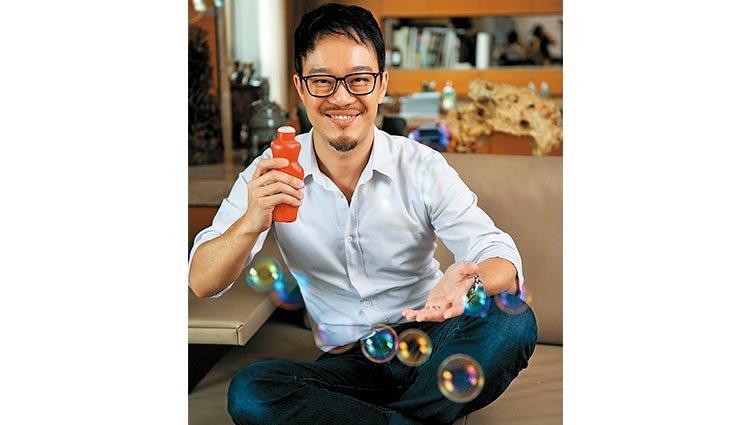 慢活老爸劉軒:細嚼一顆糖  讓三歲兒練專注