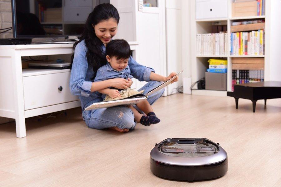 知名部落客盧小桃  時尚韓風智慧家電加持 做家事也能很輕鬆