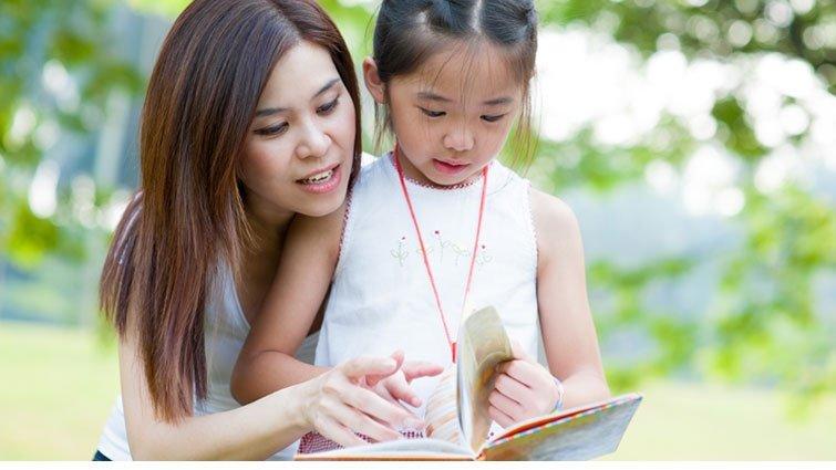 從孩子感到安心的地方開啟他的閱讀之旅
