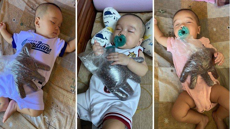 一包紅豆換媽媽短暫自由!讓寶寶睡得香甜的神奇安撫妙招