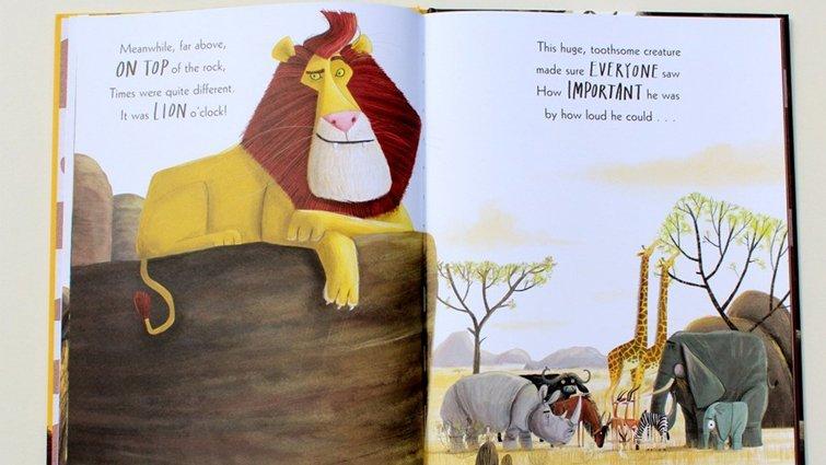 李貞慧:當你內心感到怯懦、恐懼-《The Lion Inside》【啜飲繪本午茶】