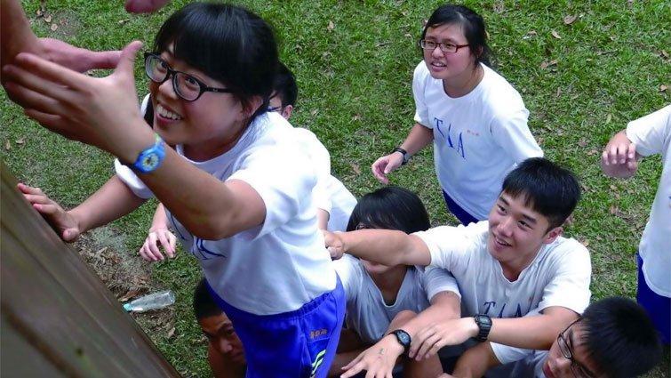 南投縣三育高中國中部:外語資源多  姊妹校遍布三洲