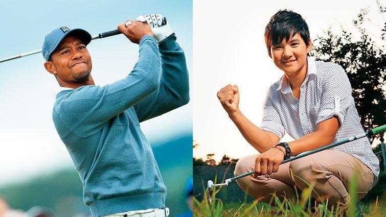 王溢嘉:父愛締造高爾夫傳奇