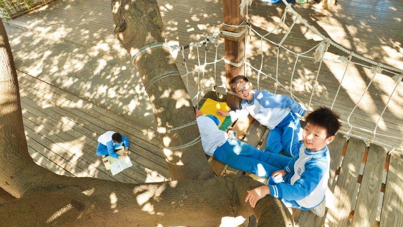 台北市奎山實驗高中| IB精神不只在課堂 更在生活裡