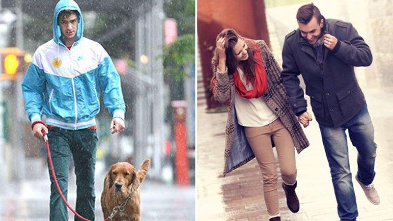 為什麼美國人不愛撐傘?