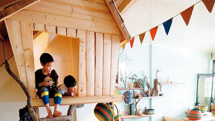 親子動手做,在家打造夢想樹屋