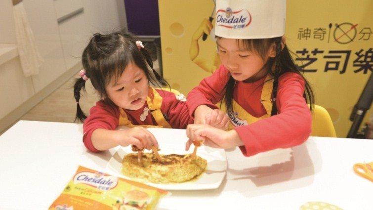 營養早餐讓一天的活力up,芝司樂幫寶貝聰明補鈣的早餐絕配