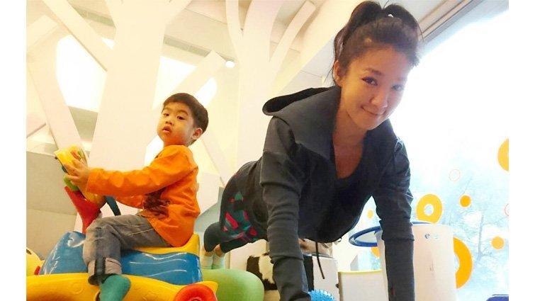 筋肉媽媽:努力追夢是我給孩子最好身教