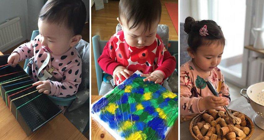 教育家媽媽的創意點子:不花大錢,家裡也永遠有「新玩具」