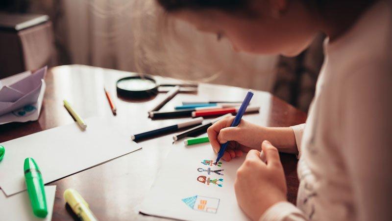 當孩子堅持自己的創作,我們該不該指導?