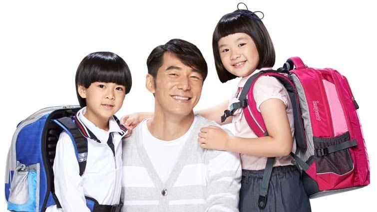 好爸爸李李仁聰明選書包