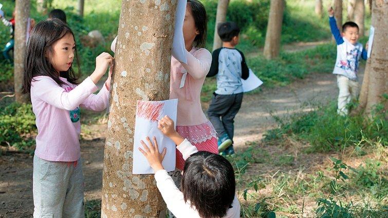 台南市虎山實驗國小 行動學習戶外生態就是大教室