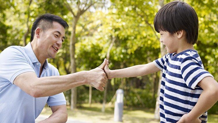 父母陪伴成長 青少年升學動機高
