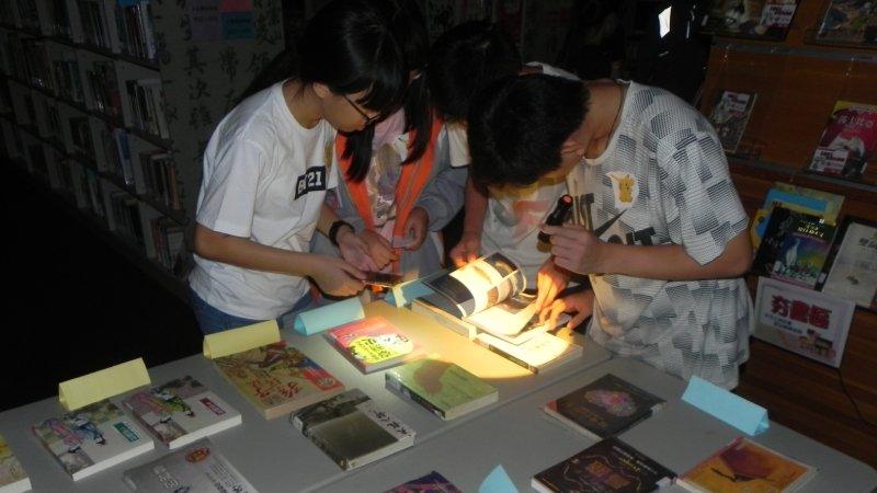 夜宿文賢國中圖書館,透過閱讀啟發未來