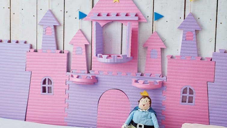 在家玩巧拼:城堡防撞墊