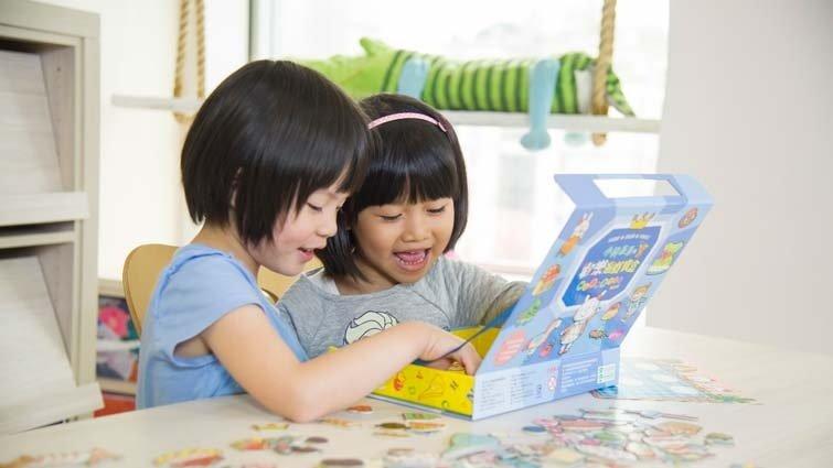 張旭鎧:一個遊戲寶盒 訓練孩子認知與語言表達