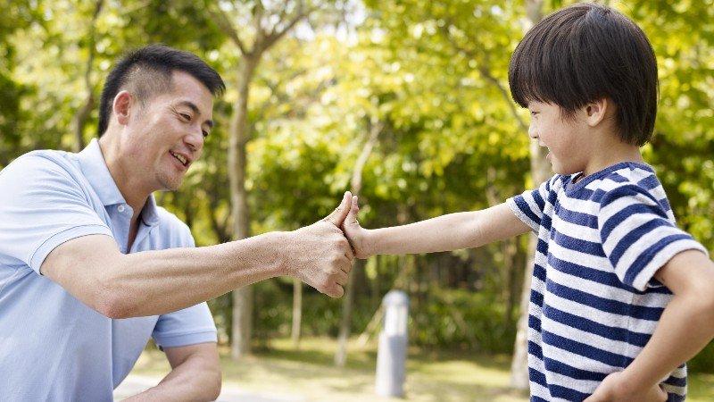 愈被父親認可的兒子愈容易成材