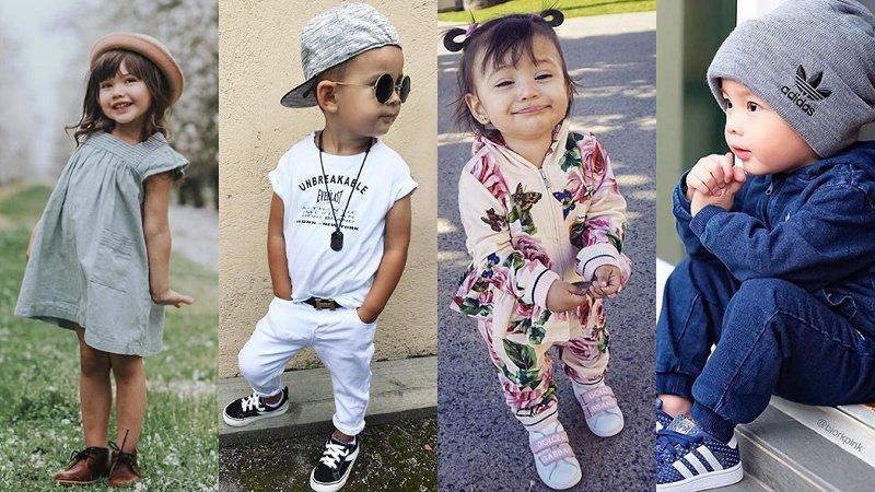 走在潮流尖端!小小孩的「萌」時尚,你跟上了嗎?