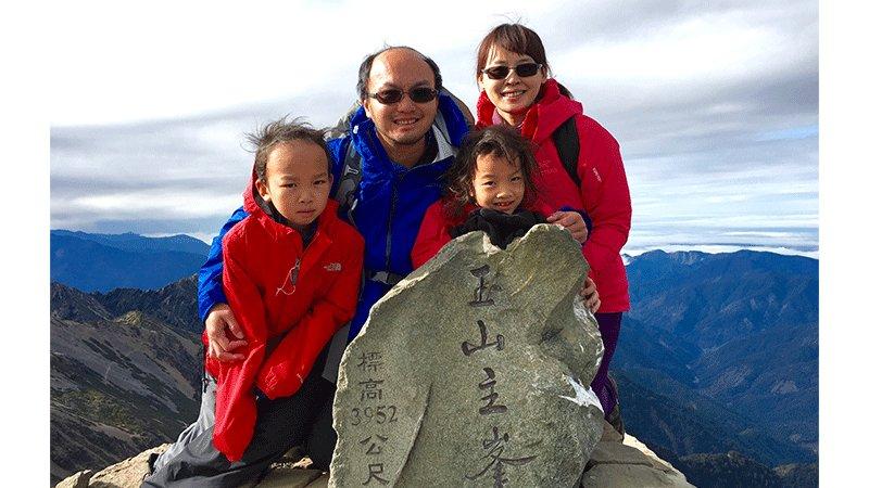 「山永遠都在,命只有一條」爬山教會孩子與我的冒險教養學