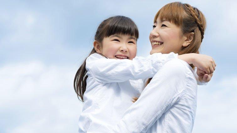 今天的功課:被家人抱抱