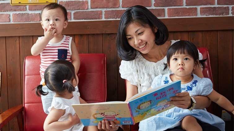 林真美:快樂共讀的祕方