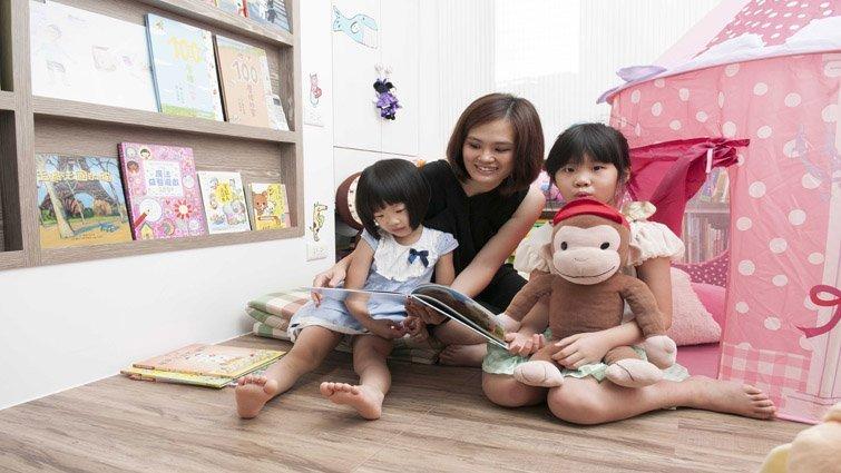 親子互動零距離,增進全家的幸福美好時光