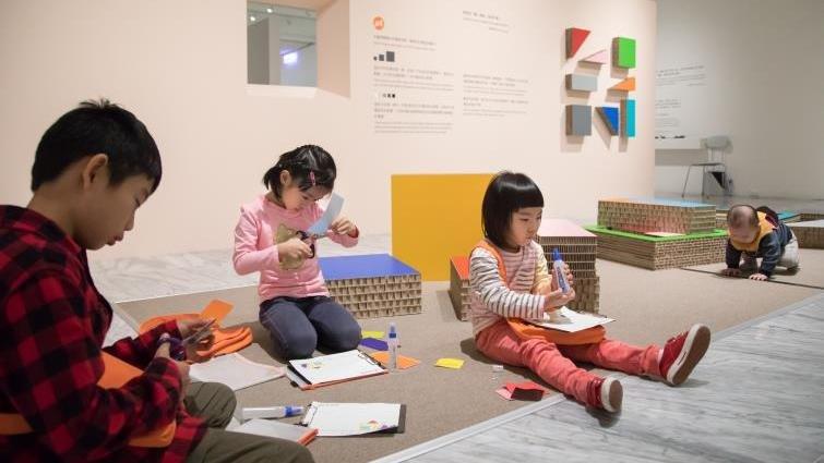 北美館兒藝中心小小孩逛美術館的3種方式
