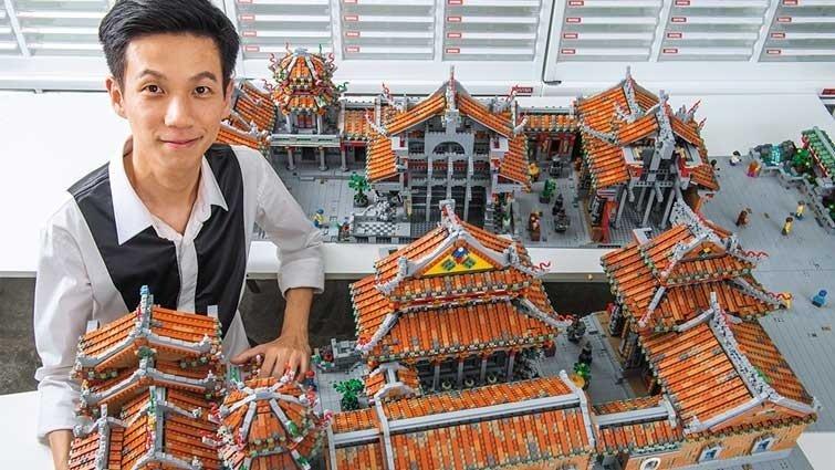 樂高藝術家 陳冠州:樂高是我的語言