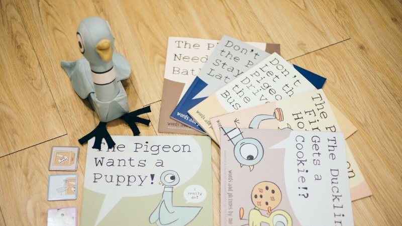 笑點不斷,引起孩子共鳴的The Mo Willems Pigeon Book Collection