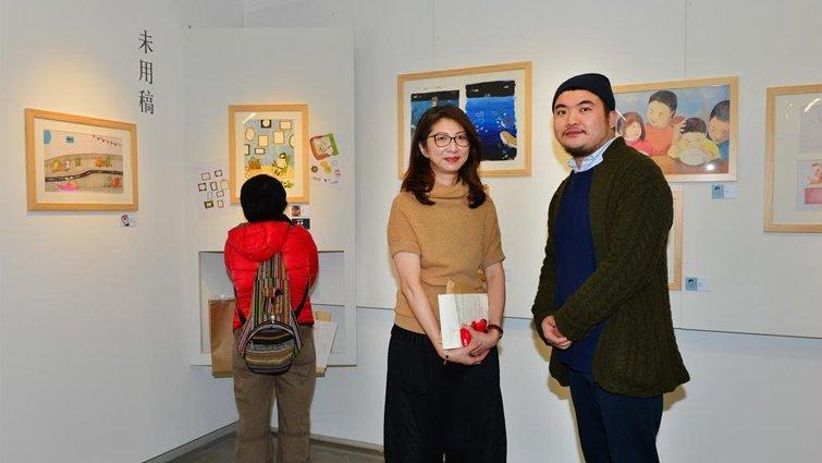 停聽看他們做繪本,展出11位台灣繪本創作者原畫
