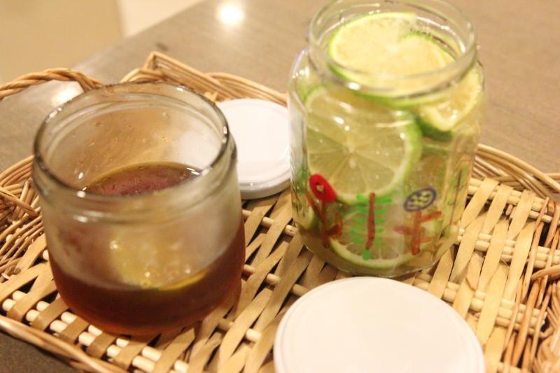 【お料理】蜂蜜漬檸檬,糖漬檸檬