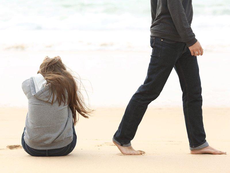 女兒,轉身離開不代表失敗,請不要抱著死心眼過妳的人生!