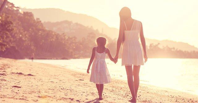 媽媽給女兒最好的祝福,是從現在開始追求自由