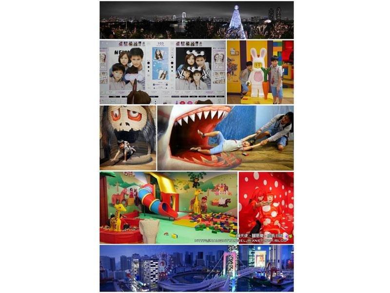 DECKS東京海濱,好玩:樂高、蠟像館、迷宮館、JOYPOLIS、好吃:一丁目商店街